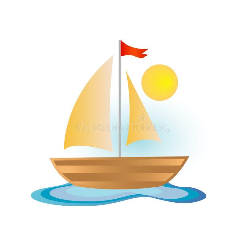 икона шлюпки бесплатная иллюстрация