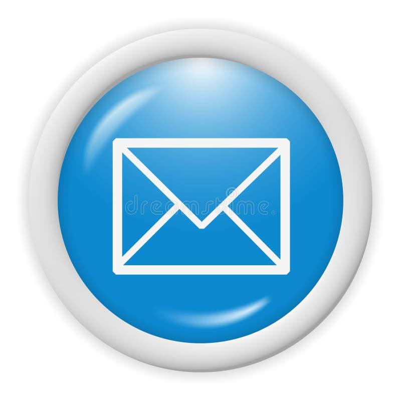 икона электронной почты иллюстрация вектора