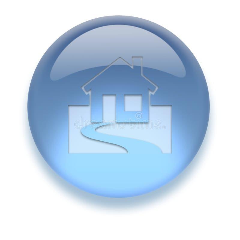 Икона Aqua Стоковые Изображения