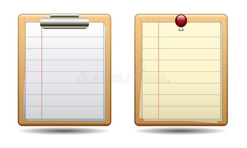 Икона Clipboard иллюстрация вектора
