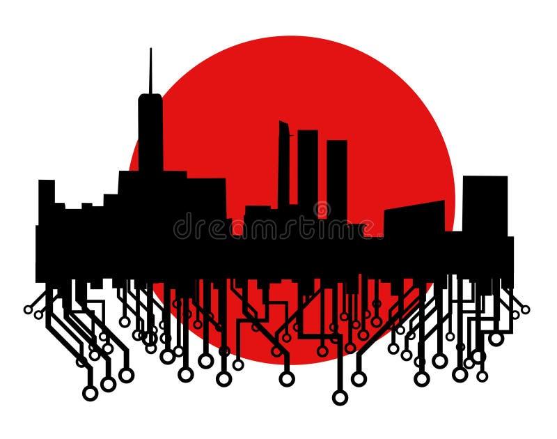 икона futre города бесплатная иллюстрация