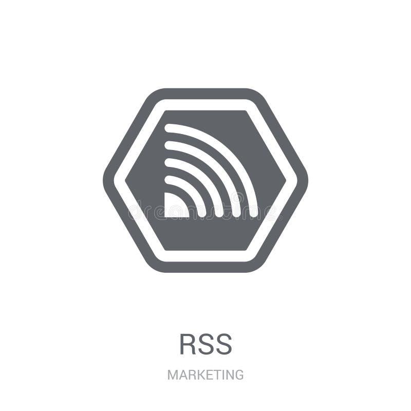 Икона Rss  иллюстрация штока
