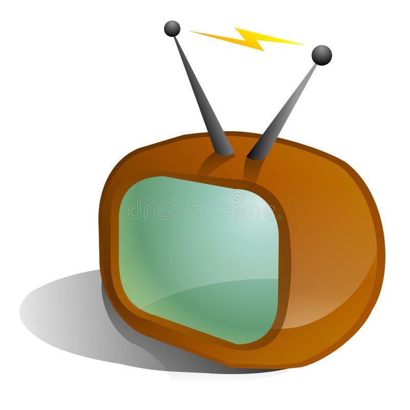 икона tv иллюстрация вектора