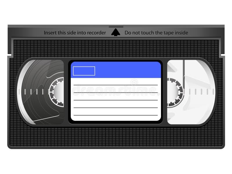 Икона VHS иллюстрация вектора