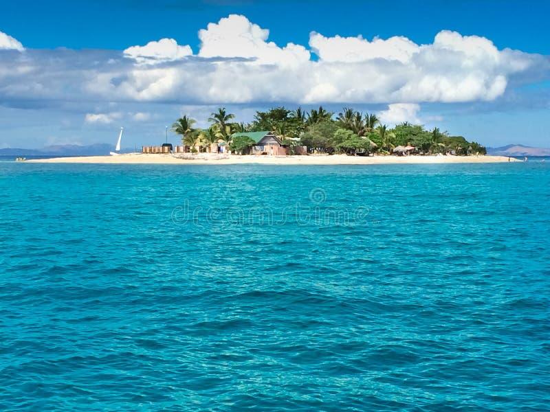 Иконический фиджийский остров стоковая фотография
