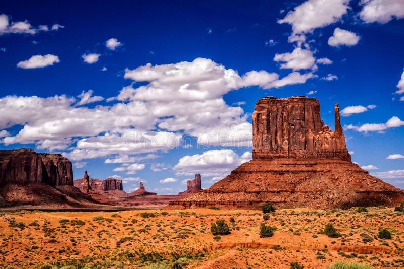 Иконический юго-запад на долине памятника стоковое изображение