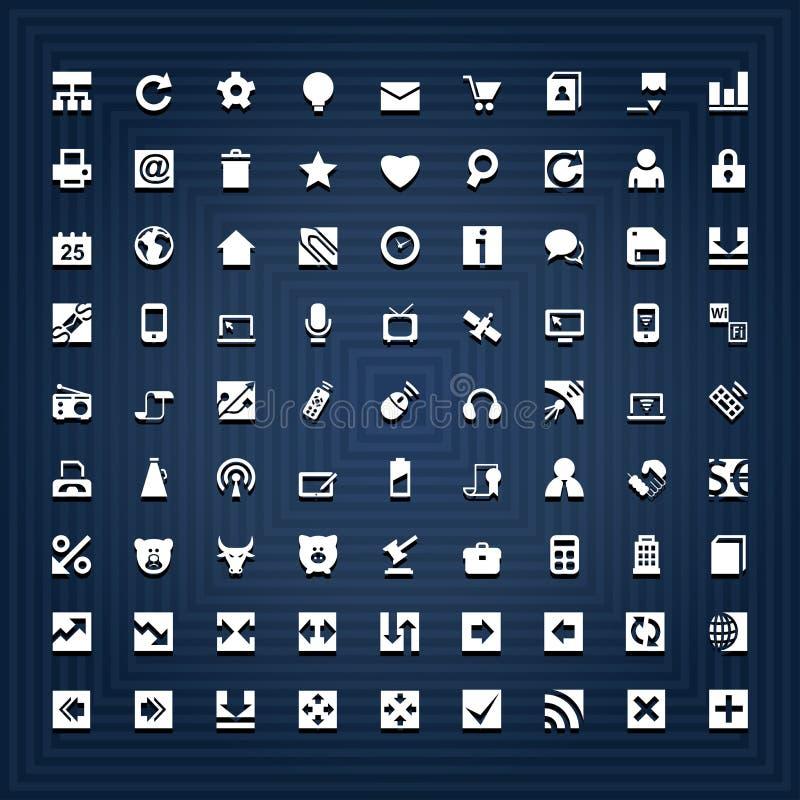 иконы всеобщие иллюстрация штока