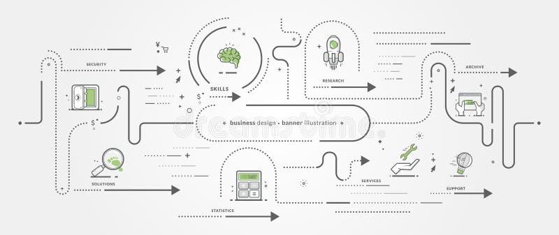 Иконы графической конструкции стоковое изображение
