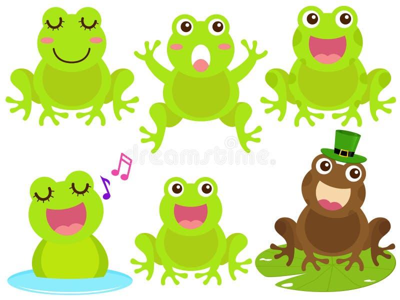 иконы лягушки pond вектор бесплатная иллюстрация