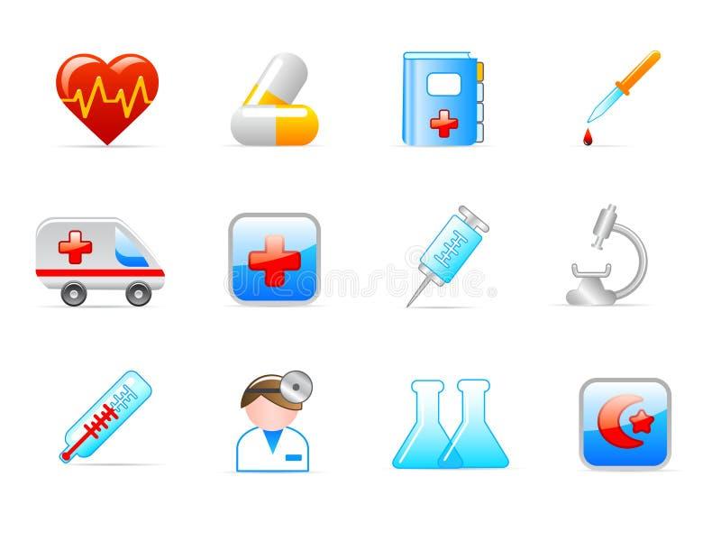 иконы медицинские иллюстрация штока