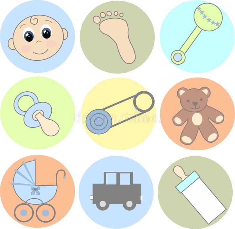 иконы младенца бесплатная иллюстрация