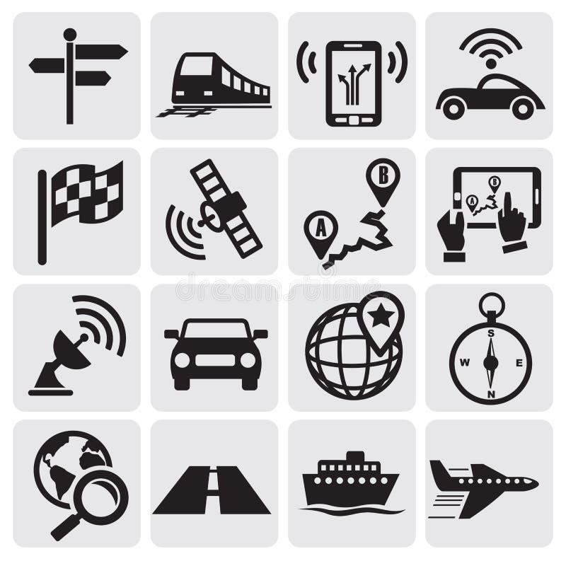 Иконы навигации бесплатная иллюстрация