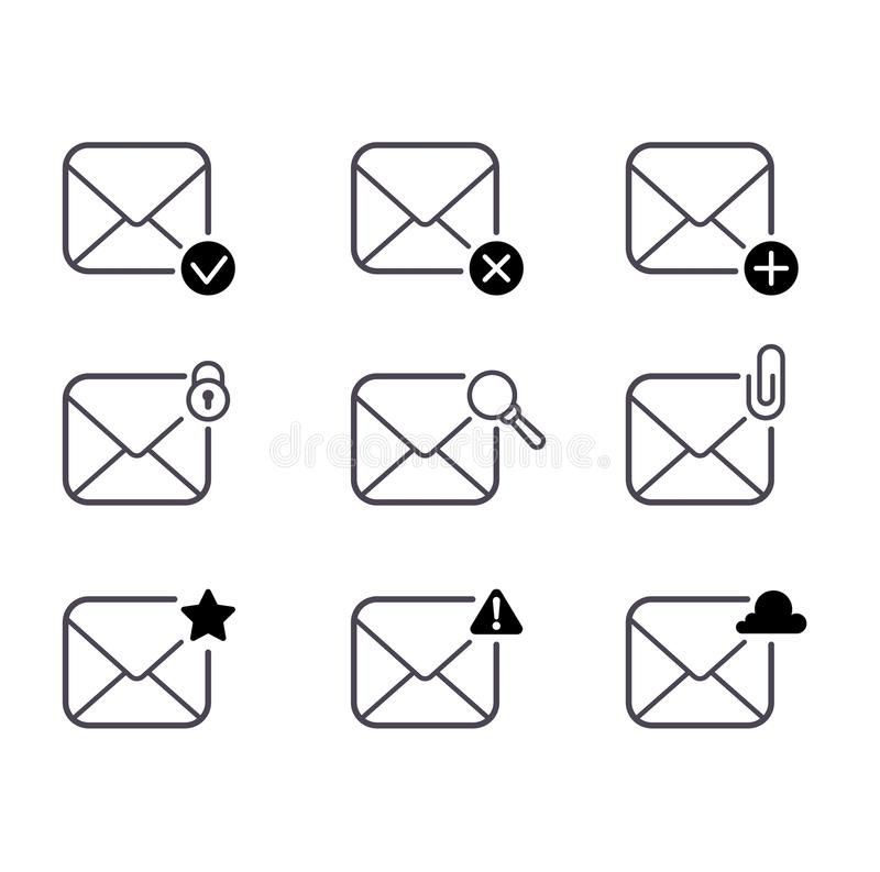 иконы пересылают комплект бесплатная иллюстрация