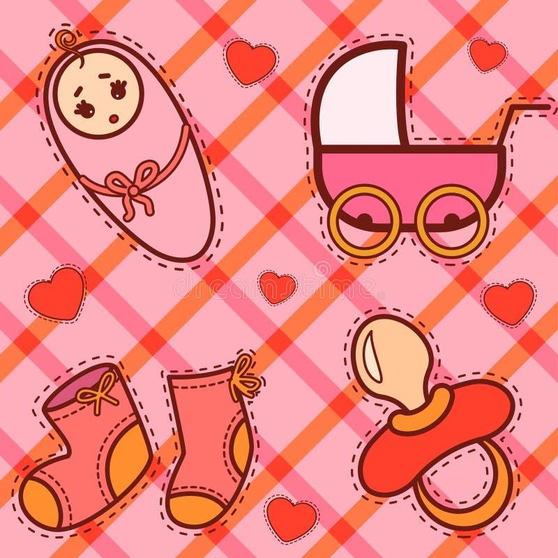 иконы предпосылки младенца бесплатная иллюстрация
