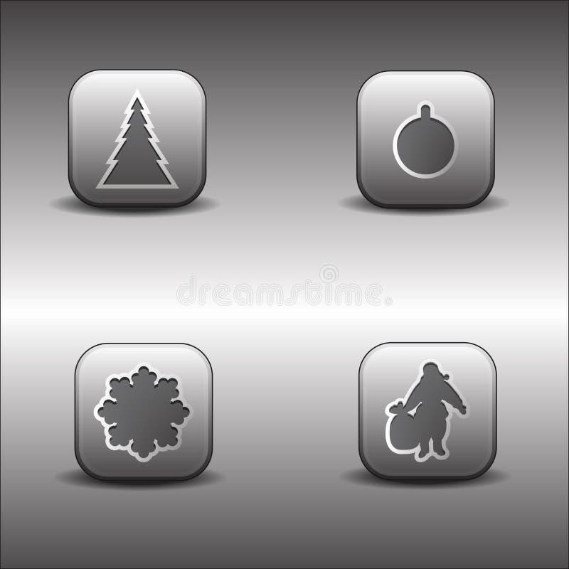 иконы рождества металлические бесплатная иллюстрация