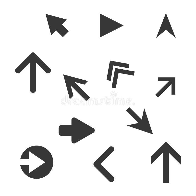 иконы стрелки установили бесплатная иллюстрация