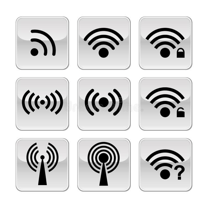 Иконы Wifi бесплатная иллюстрация
