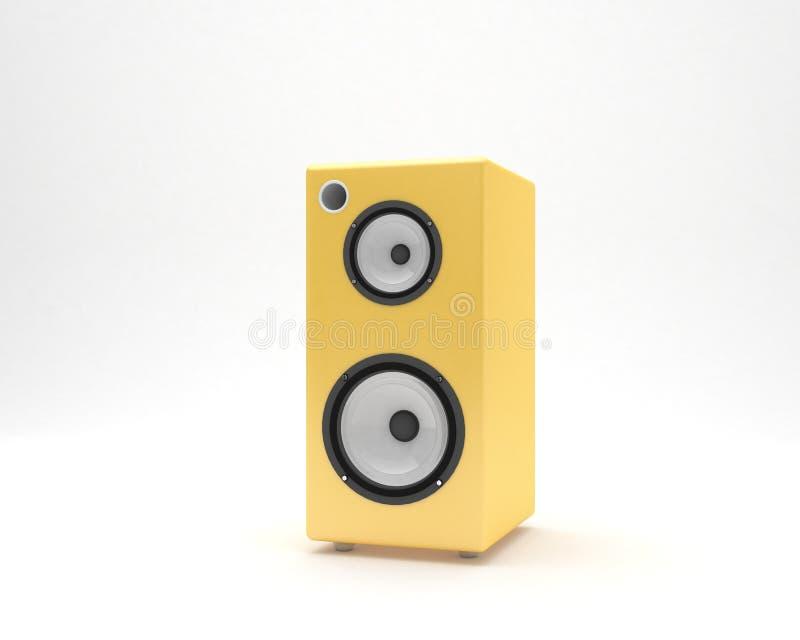 диктор близкого оборудования аудио музыкальный вверх стоковые фото