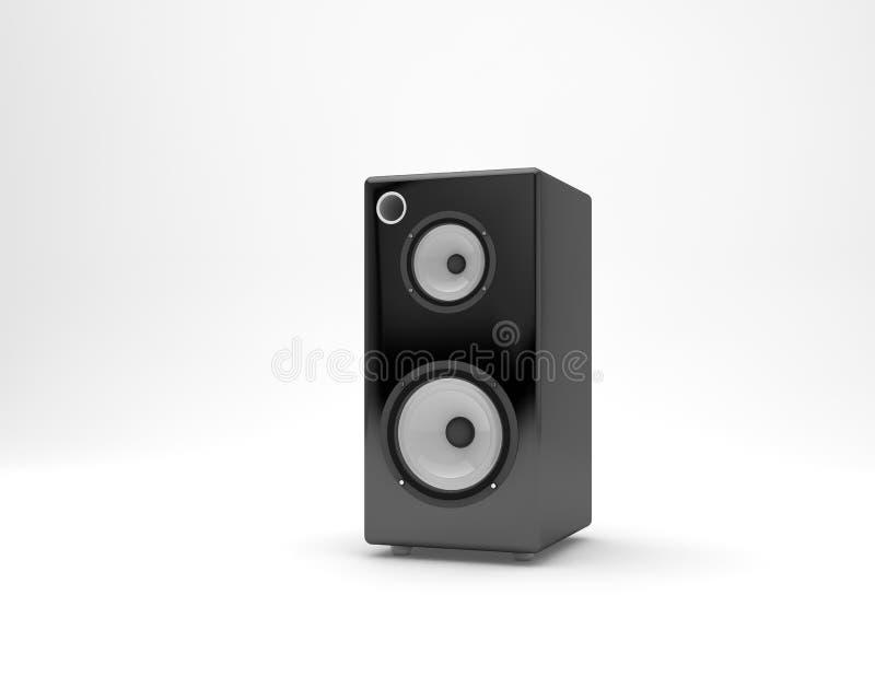 диктор близкого оборудования аудио музыкальный вверх стоковое фото rf