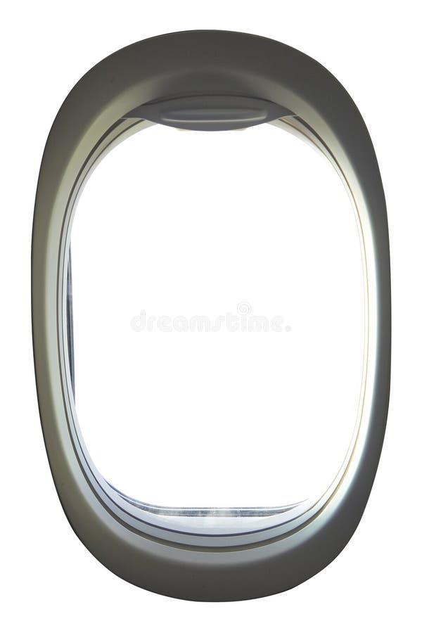 Иллюминатор пустого воздушного судна стоковые изображения
