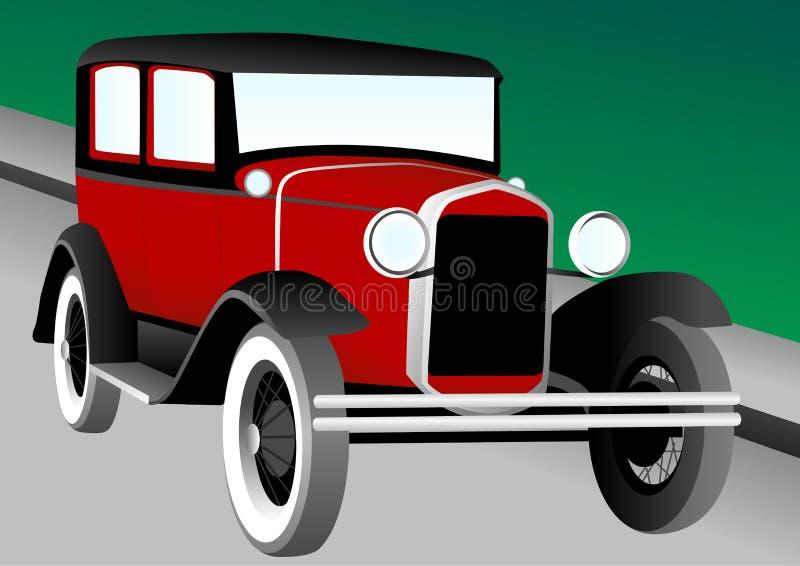 иллюстрация античного автомобиля бесплатная иллюстрация
