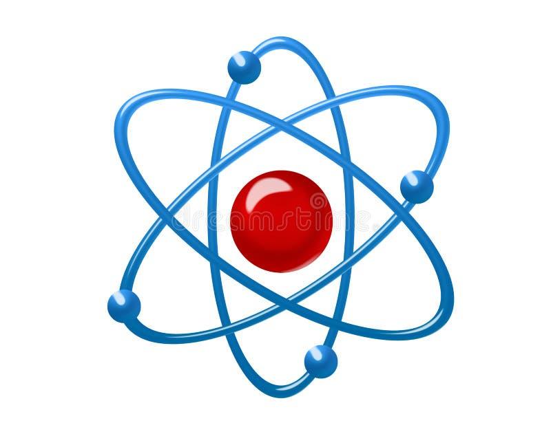 иллюстрация атома иллюстрация вектора