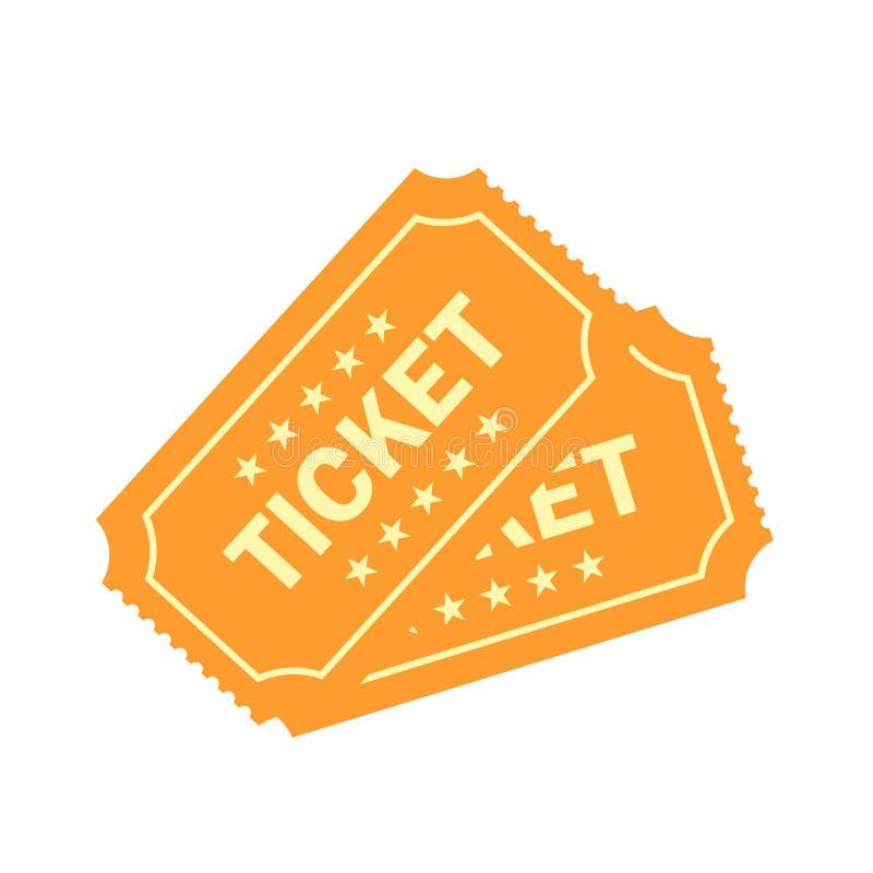 Иллюстрация билета вектора лотереи золота бесплатная иллюстрация