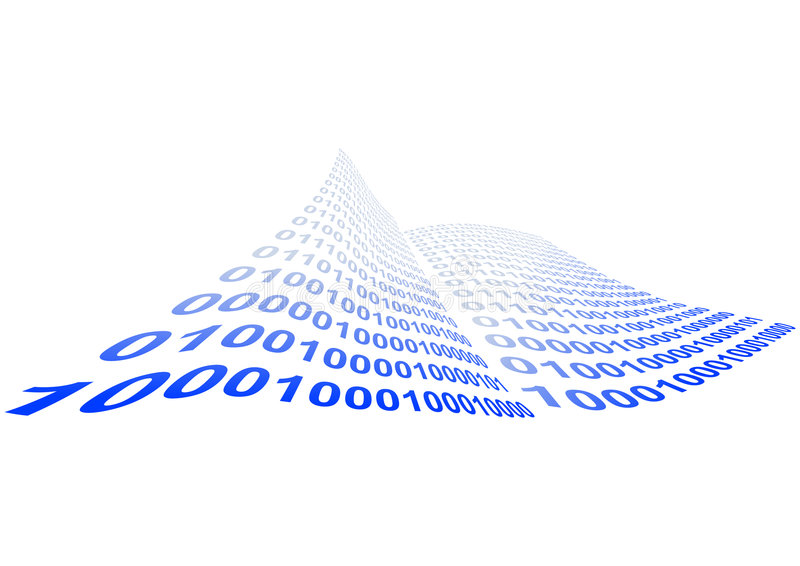 иллюстрация бинарного Кода бесплатная иллюстрация