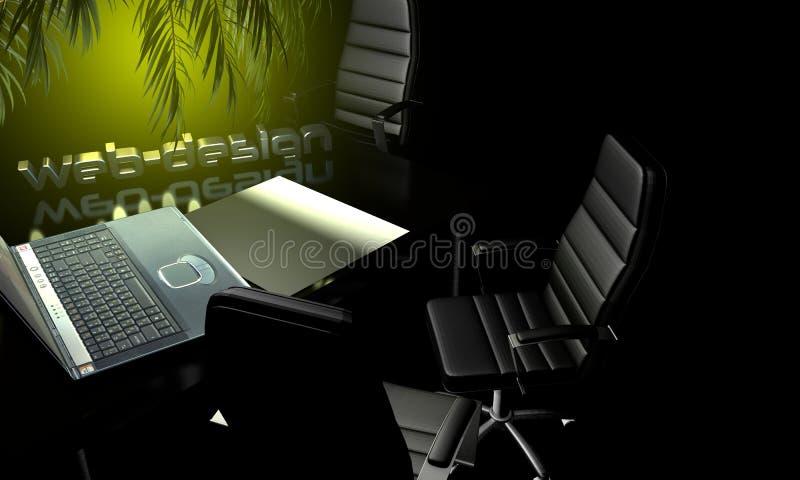 иллюстрация веб-дизайна 3D ежедневного режима иллюстрация штока