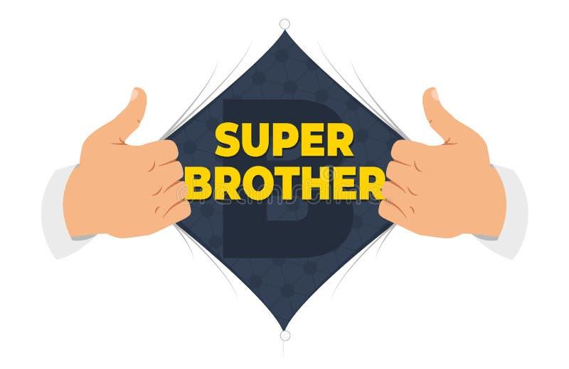 Иллюстрация вектора брата рубашки отверстия бесплатная иллюстрация