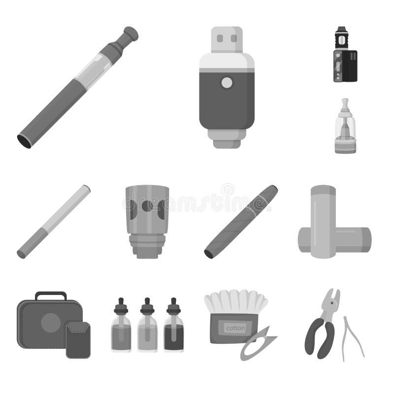 Иллюстрация вектора знака оборудования и трубы Значок комплекта оборудования и вектора вкуса для запаса иллюстрация вектора
