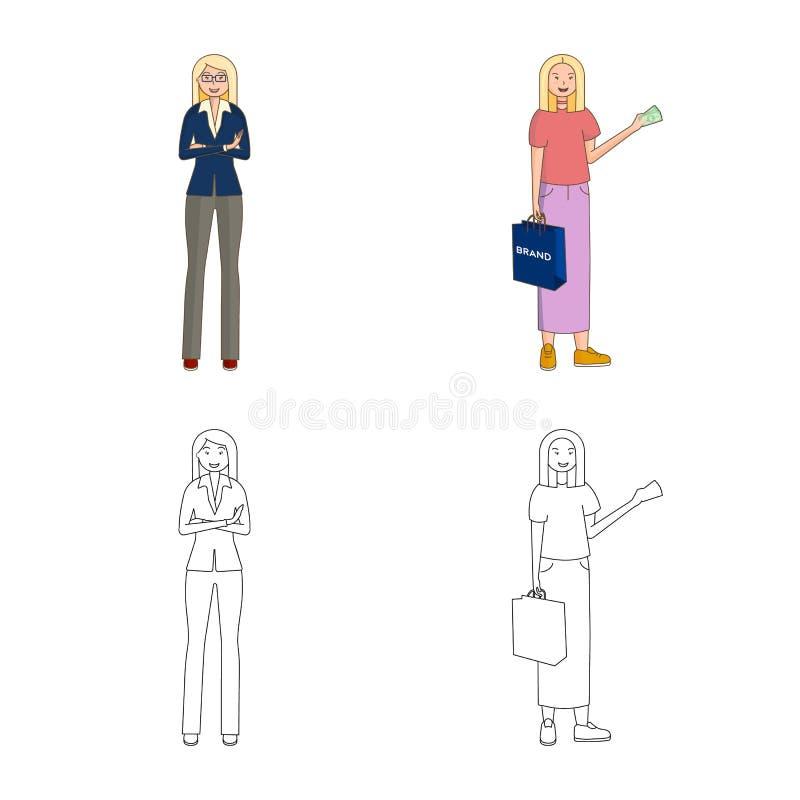 Иллюстрация вектора значка позиции и настроения E иллюстрация вектора
