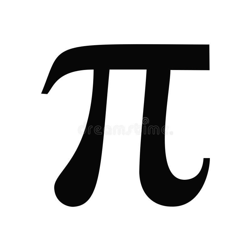 Иллюстрация вектора значка символа PI бесплатная иллюстрация