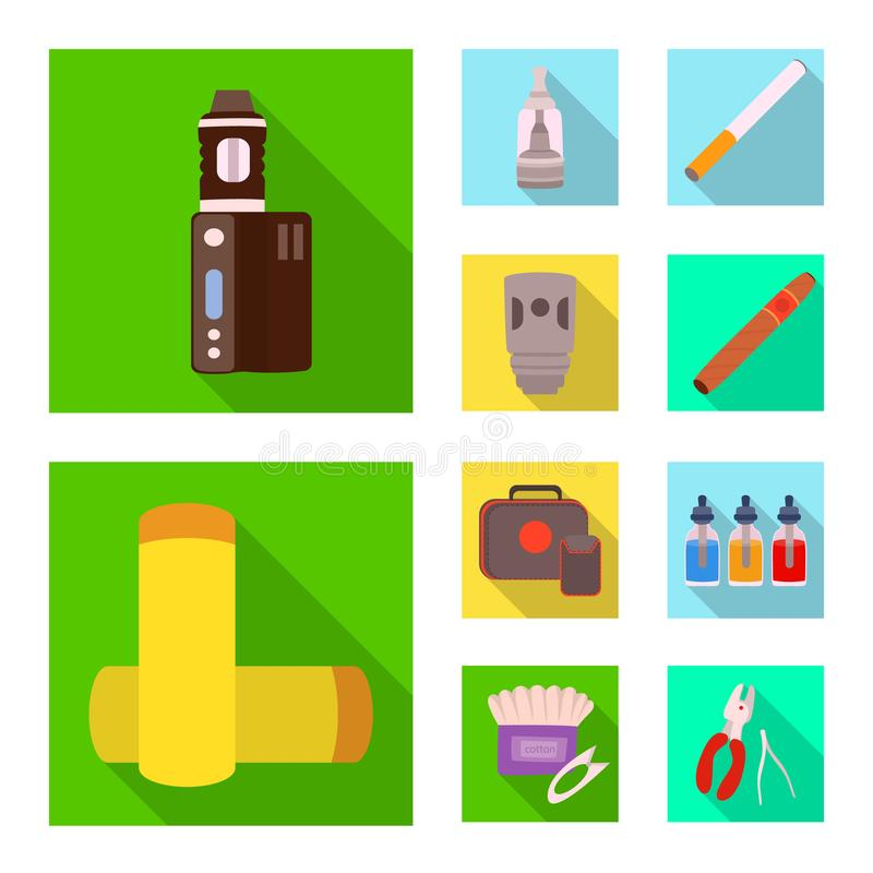Иллюстрация вектора значка технологии и вкуса Собрание технологии и ультрамодный значок вектора для запаса иллюстрация штока