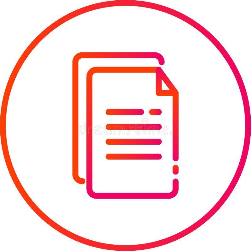 иллюстрация вектора, значок печати, магазин печати, типография стоковое фото