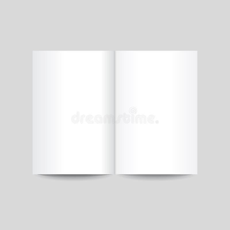 Иллюстрация вектора листов примечания на серой предпосылке иллюстрация вектора