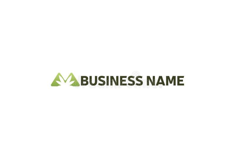 Иллюстрация вектора логотипа лист марихуаны зеленого бесплатная иллюстрация
