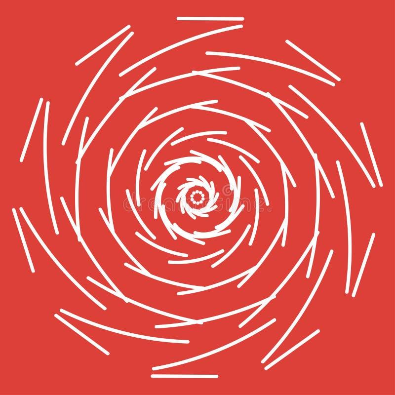 Иллюстрация вектора мандалы Картина круглого конспекта флористическая восточная, винтажные декоративные элементы иллюстрация штока