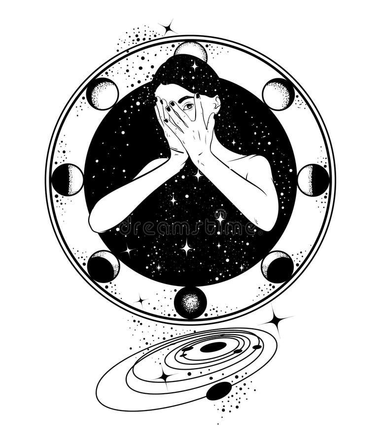 Иллюстрация вектора нарисованная рукой иллюстрация штока
