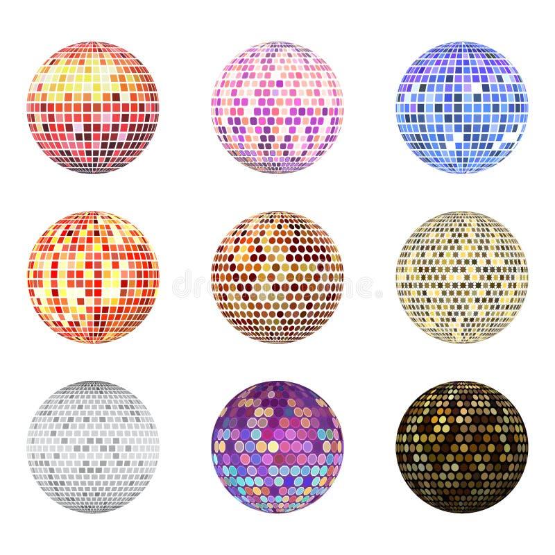 Иллюстрация вектора оборудования танца ночного клуба партии музыки discotheque шарика диско иллюстрация вектора