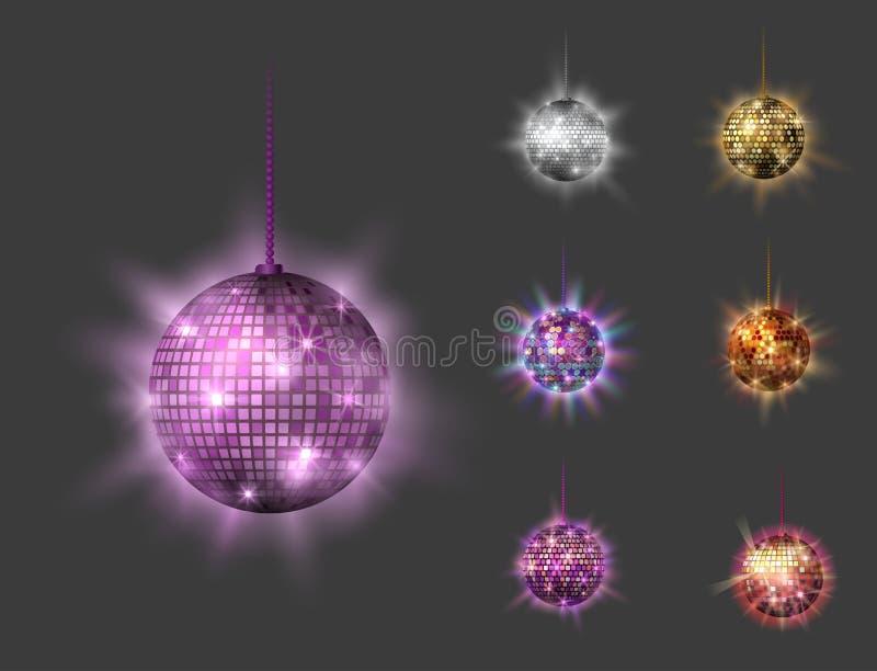 Иллюстрация вектора оборудования танца ночного клуба партии музыки discotheque шарика диско бесплатная иллюстрация