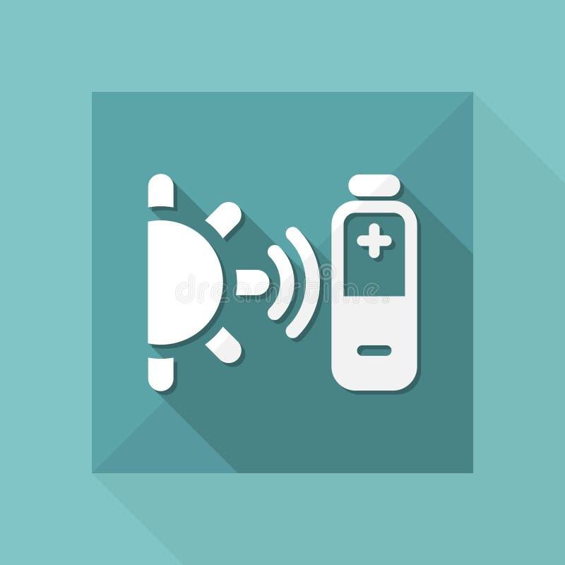 Иллюстрация вектора одиночного изолированного значка bioenergy бесплатная иллюстрация