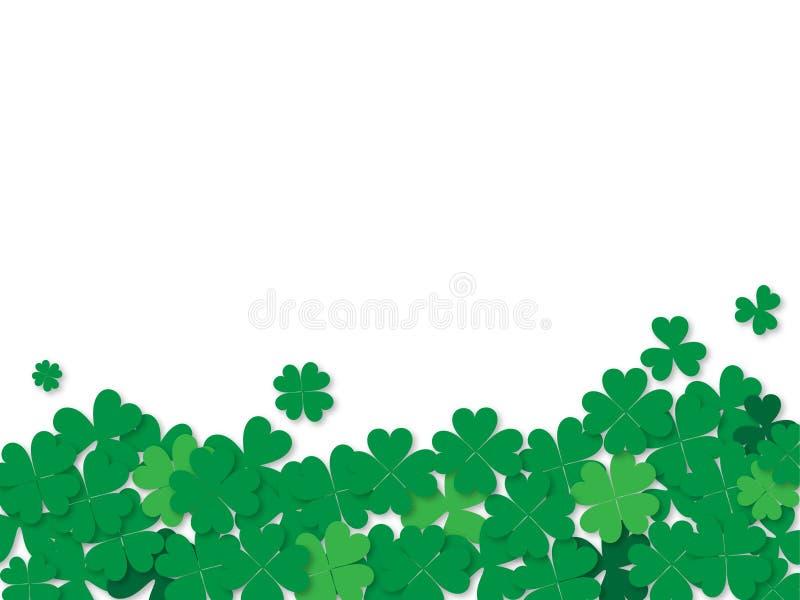 Иллюстрация вектора предпосылки дня St. Patrick стоковое фото