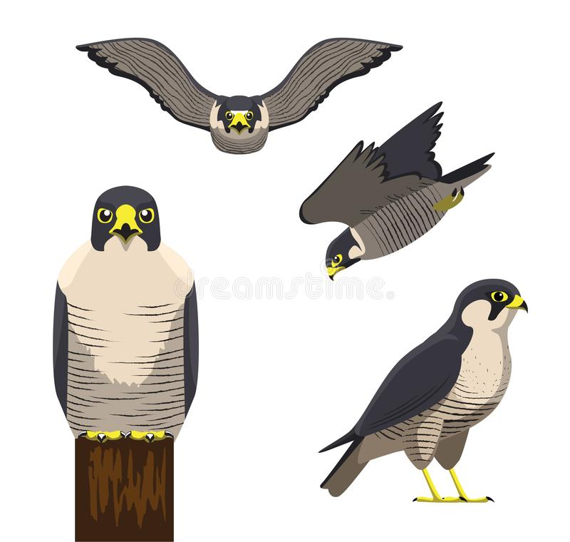 Иллюстрация вектора шаржа чужеземца птицы бесплатная иллюстрация
