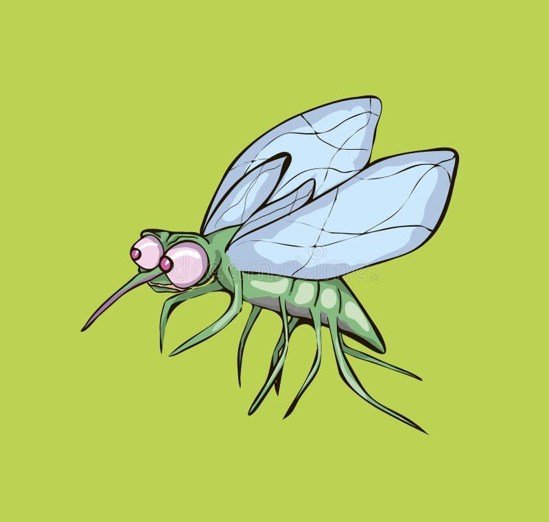 Иллюстрация вектора mosquit иллюстрация вектора