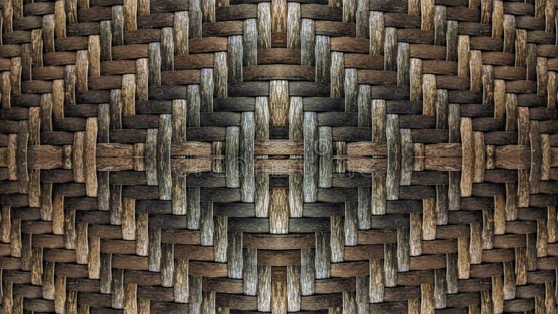 Иллюстрация влияния зеркала плетеной корзины бесплатная иллюстрация