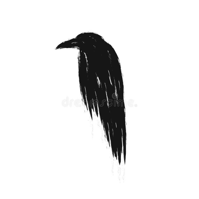Иллюстрация ворона бесплатная иллюстрация