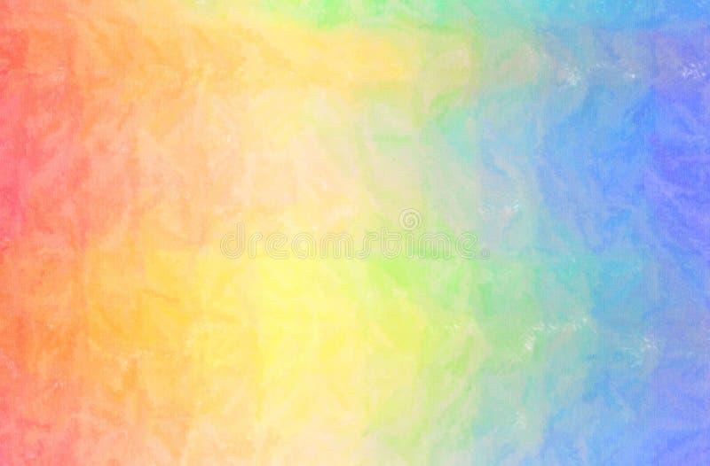 Иллюстрация голубой, розовой и желтой цифров произведенной предпосылки краски Crayon воска, бесплатная иллюстрация
