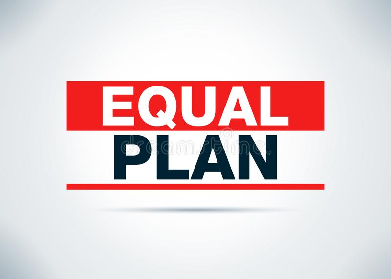 Иллюстрация дизайна предпосылки равного конспекта плана плоская бесплатная иллюстрация