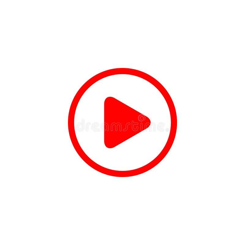 Иллюстрация дизайна шаблона вектора логотипа значка игры кнопки иллюстрация вектора